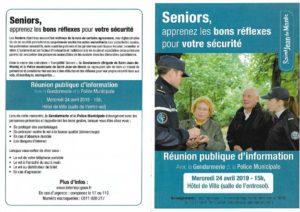 thumbnail of Réunion gendarmerie